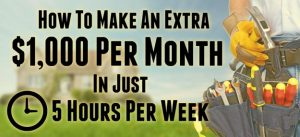 How to Make an Extra $1,000 Per Month in Just 5 Hours Per Week With a Part Time Handyman Business